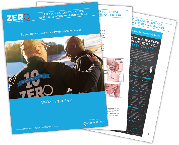 Download A Free Newly Diagnosed Toolkit Zero The End Of Prostate